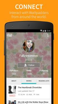 Wattpad captura de pantalla 3