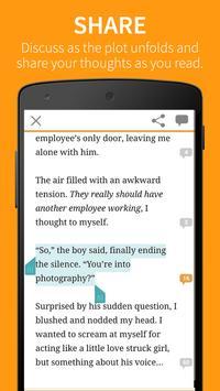 Wattpad captura de pantalla 4