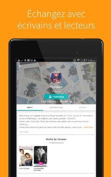 Wattpad capture d'écran 7