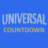 Universal Studios Countdown ícone