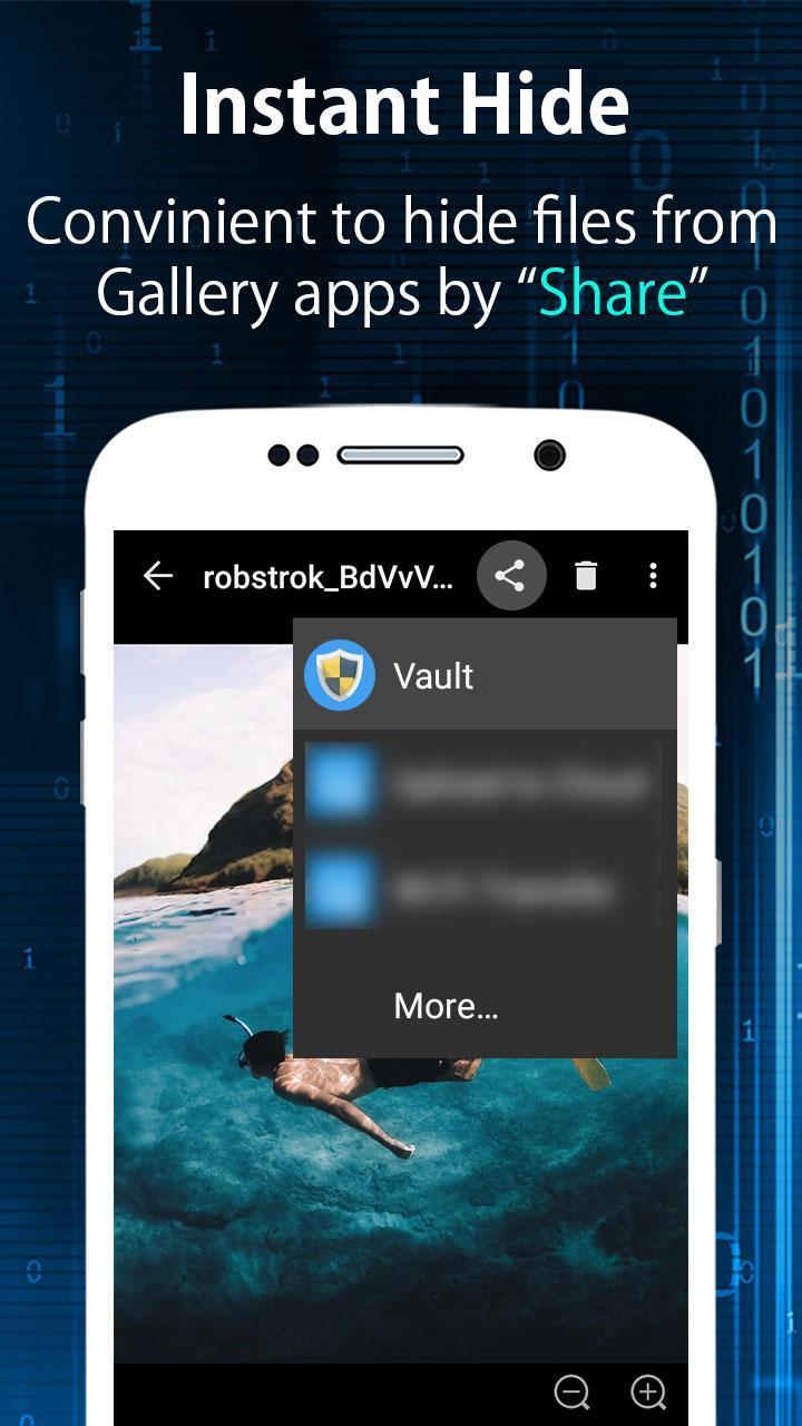 Clock - The Vault : Secret Photo Video Locker for Android
