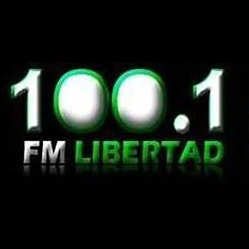FM Libertad San Luis 100.1 poster