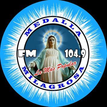 FM Medalla Milagrosa 104.9 poster