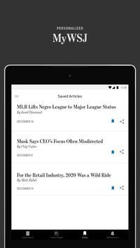 The Wall Street Journal: Business & Market News screenshot 7