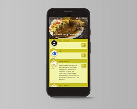 Celicidad. Comer sin gluten screenshot 2