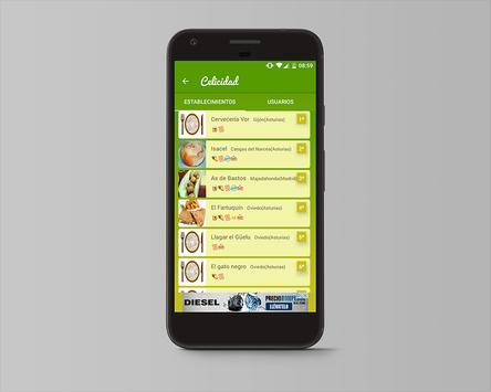 Celicidad. Comer sin gluten screenshot 5