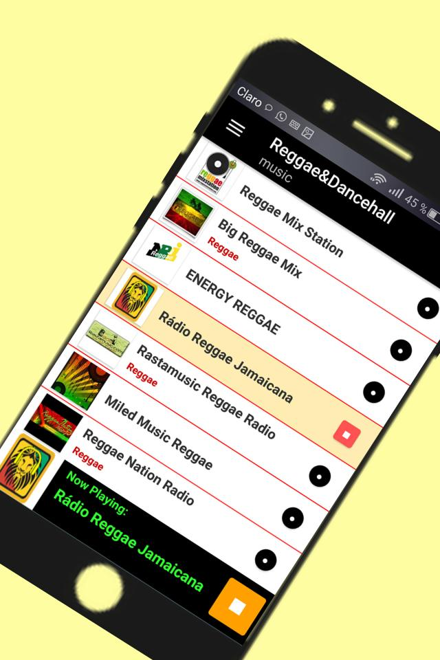 Radio music reggae and dancehall free 2019 for Android - APK