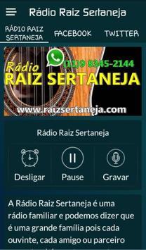 Rádio Raiz Sertaneja poster