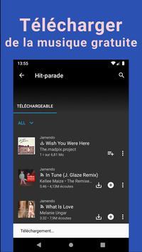 Télécharger musique gratuit | YouTube & MP3 Player capture d'écran 1