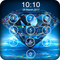 Diamond Passcode Lock Screen