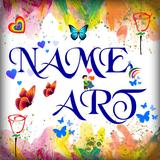 Name Art - Focus N Filter