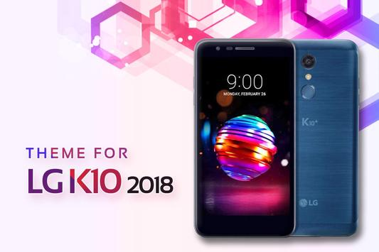 Theme for LG K10 2018 poster