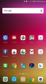 Theme for LG K10 2018 screenshot 1