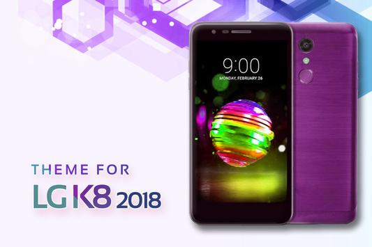 Theme for LG K8 2018 poster