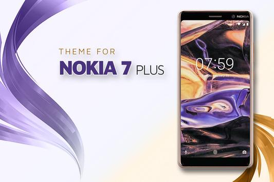 Theme for Nokia 7 Plus poster