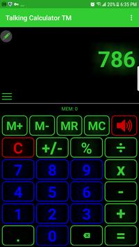 talking calculator speaking calculator voice casi screenshot 4