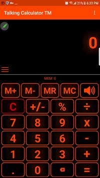 talking calculator speaking calculator voice casi screenshot 5