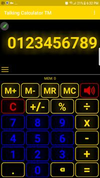 talking calculator speaking calculator voice casi screenshot 6
