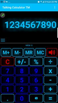 talking calculator speaking calculator voice casi screenshot 2