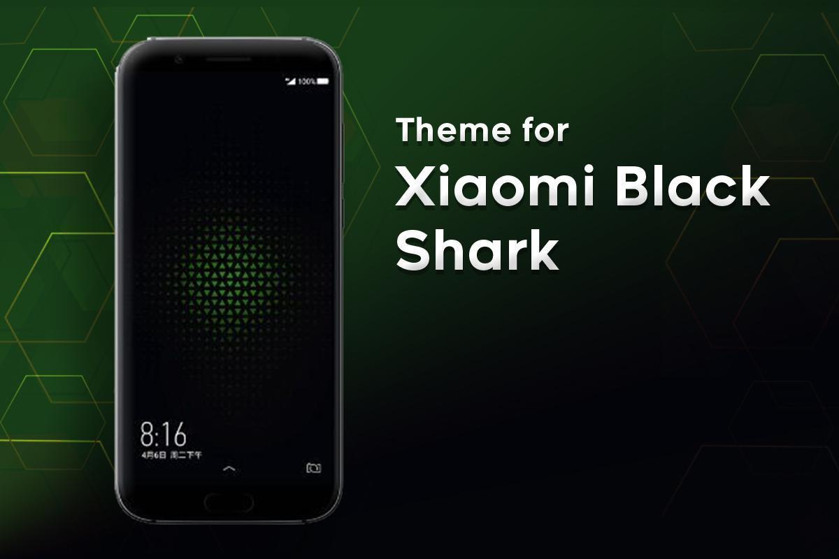 Download Tema Xiaomi Black Shark