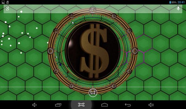 18 Schermata 3D Dollar Sign Live Wallpaper