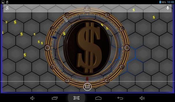 11 Schermata 3D Dollar Sign Live Wallpaper