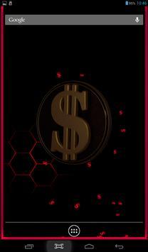 23 Schermata 3D Dollar Sign Live Wallpaper