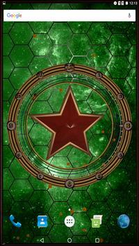 Star Clock Live Wallpaper Pro poster