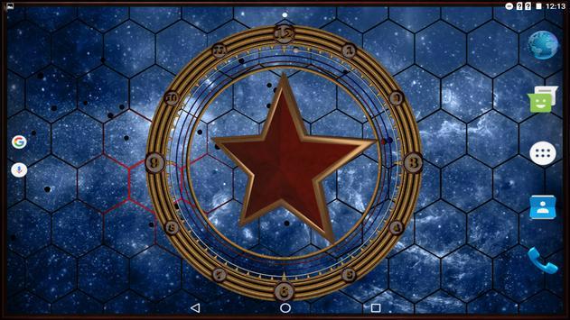 Star Clock Live Wallpaper Pro screenshot 13