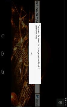 Mp3 Converter Free screenshot 4