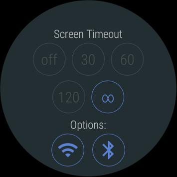 Screen Timeout (Wear) poster