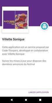 Villette Sonique poster