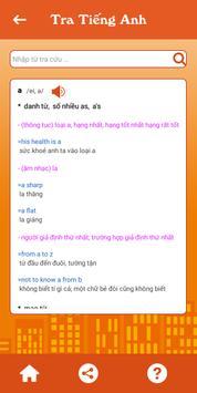Tra câu, từ điển Anh - Việt screenshot 1