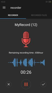Easy sound Recorder poster