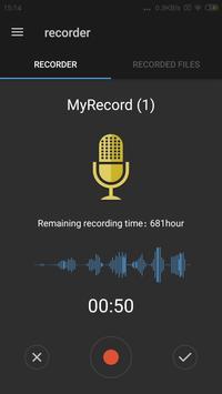Easy sound Recorder screenshot 1