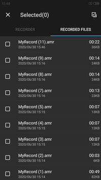 Easy sound Recorder screenshot 2