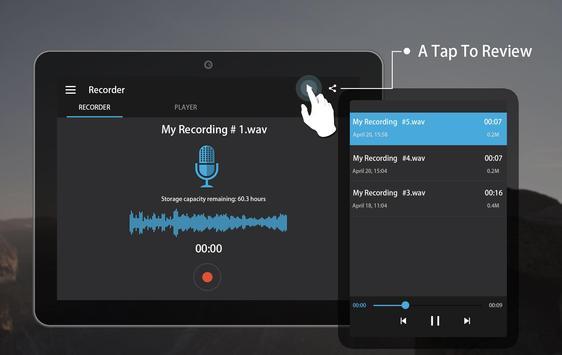 Easy sound Recorder screenshot 7