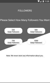 Followers For TikTok - Get Fans, Follow and Likes screenshot 2