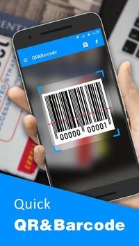 QR-Code und Barcode-Scanner Plakat
