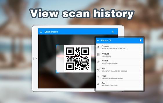 QR-Code und Barcode-Scanner Screenshot 5
