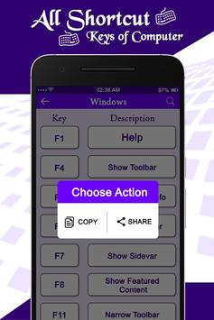 Computer Shortcut Keys screenshot 3