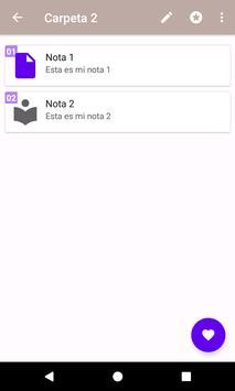 Mis Notas screenshot 4