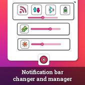 Notification Bar & Status Bar Changer icon