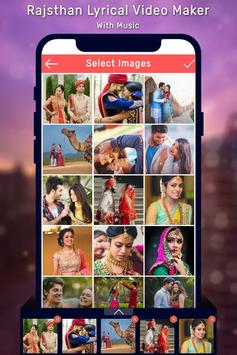 Rajasthani Lyrical Photo Video Maker With Music poster
