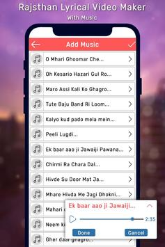 Rajasthani Lyrical Photo Video Maker With Music screenshot 2