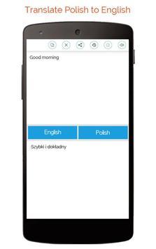 Polish English Translator screenshot 4
