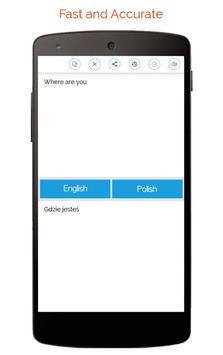 Polish English Translator screenshot 5