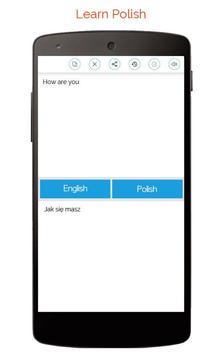 Polish English Translator screenshot 1