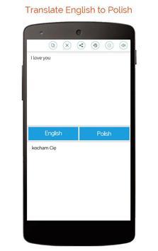 Polish English Translator screenshot 3