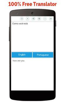 Portuguese English Translator screenshot 5